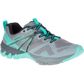 Merrell MQM Flex GTX Shoes Women grey/turquoise